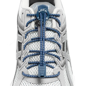 Lock Laces Run Laces Navy Blue